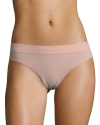 DKNY - Seamless Mid-rise Thong - Lyst
