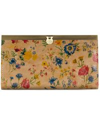 Patricia Nash - Cuban Tropical Cauchy Leather Wallet - Lyst