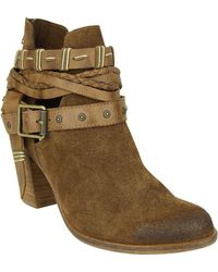 Naughty Monkey - Cuthbert Suede Booties - Lyst