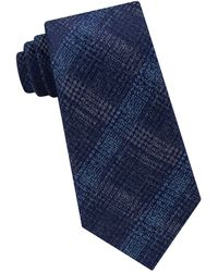 Michael Kors - Briarcliff Check Silk Tie - Lyst