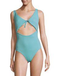 Peixoto - Sophia One-piece Cutout Swimsuit - Lyst