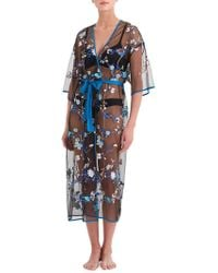 Rya Collection - Enchanted Embroidered Robe - Lyst