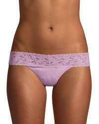 Hanky Panky - Low-rise Thong - Lyst