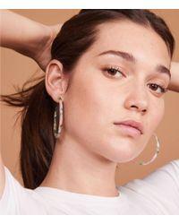 Lou & Grey - Machete Large Hoop Earrings - Lyst