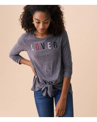 Lou & Grey - Sundry Lover Knit Tee - Lyst