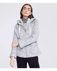 Lou & Grey - Spacedye Hoodie Jacket - Lyst