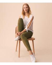 Lou & Grey - Unpicked Skinny Jeans - Lyst