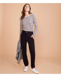 Lou & Grey - Brushed Sateen Joggers - Lyst