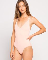 L*Space - Ribbed Dakota One Piece Swimsuit - Lyst