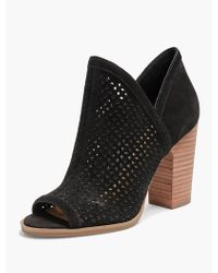 Lucky Brand - Livey Open Toe Bootie - Lyst