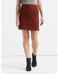 Lucky Brand - A Line Skirt - Lyst