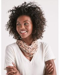 Lucky Brand - Printed Diamond Scarf - Lyst
