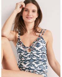 Lucky Brand - Going South Tankini - Lyst