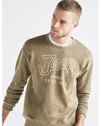 Lucky Brand - Jeep Burnout Sweatshirt - Lyst