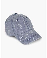 Lucky Brand - Bandana Baseball Hat - Lyst