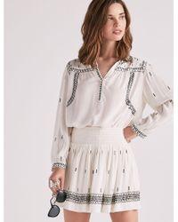 Lucky Brand | Smocked Skirt | Lyst