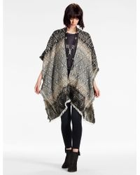 Lucky Brand - Ombre Geo Kimono - Lyst