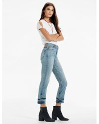 Lucky Brand - Bridgette High Rise Slim Straight Jean In Hunt - Lyst