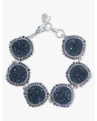 Lucky Brand - Pave Druzy Link Bracelet - Lyst