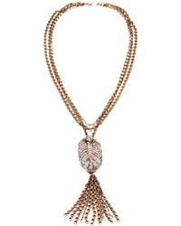 Lulu Frost - Drift Tassel Necklace - Lyst