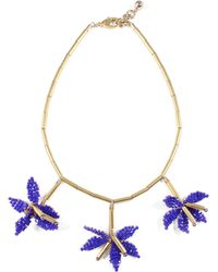 Lulu Frost - Tahiti Necklace - Blue - Lyst