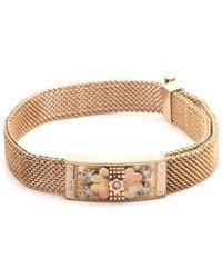 Lulu Frost - Antique Victorian Adjustable Gold Filled Mesh Bracelet - Lyst