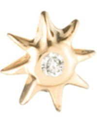 Lulu Frost - Zodiacs 14k & Diamond Fire Stud - Lyst