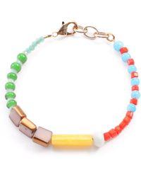 Lulu Frost - Vintage Mikeno Beaded Bracelet - Lyst