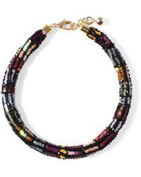 Lulu Frost - Josephine Sequin Collar - Lyst