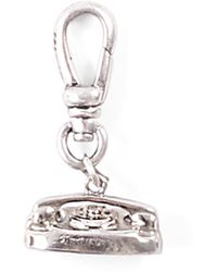 Lulu Frost - Vintage Sterling Silver Phone Charm - Lyst