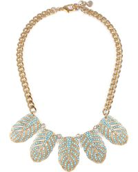 Lulu Frost - Hibiscus Necklace - Turquoise - Lyst