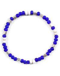 Lulu Frost - George Frost Fes Morse Code Bracelet - Cool - Lyst