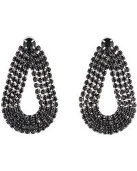 Lulu Frost - Quixotic Post Earring - Black - Lyst