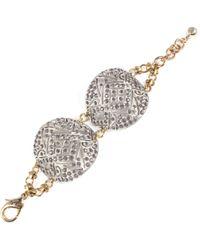 Lulu Frost - *vintage* Art Deco Double Bracelet 4 - Lyst