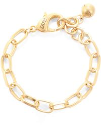 Lulu Frost - Build Your Own - Oval Link Chain Plaza Bracelet - Lyst