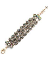 Lulu Frost - Beam Triple Strand Bracelet - Flux - Lyst