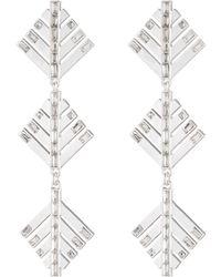 Lulu Frost - Cascadia Drop Earrings - Silver - Lyst