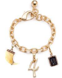 Lulu Frost - Plaza & Vintage Multi-charm Bracelet #2 - Lyst