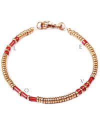 Lulu Frost - George Frost Morse Code Bracelet - Love - Lyst