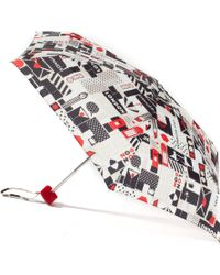 Lulu Guinness - London Print Tiny Umbrella - Lyst