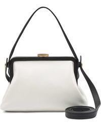 Lulu Guinness - Chalk Smooth Leather Medium Florence - Lyst
