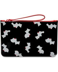 Lulu Guinness - Kissing Cameo Grace Pouch - Lyst