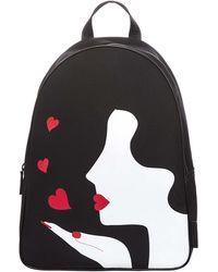 Lulu Guinness   Kissing Cameo Medium Backpack   Lyst