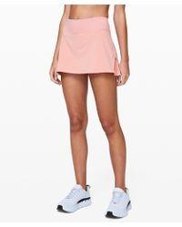 "lululemon athletica Play Off The Pleats Skirt *13"""