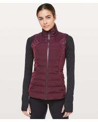 lululemon athletica - Down For It All Vest - Lyst