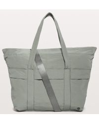5bedbfef294 lululemon athletica On My Level Tote *large 15l in Black - Lyst