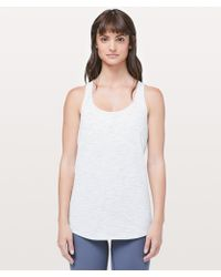 38913b2f4b Lyst - lululemon athletica Stash N  Run Tank  medium Support For B c ...