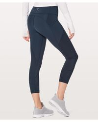 "lululemon athletica - All The Right Places Crop Ii *23"" - Lyst"