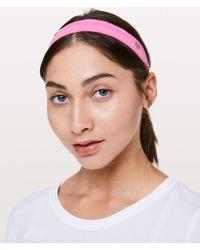 lululemon athletica - Cardio Cross Trainer Headband - Lyst
