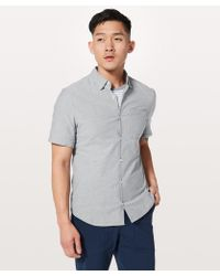 lululemon athletica - All Town Short Sleeve Buttondown - Lyst